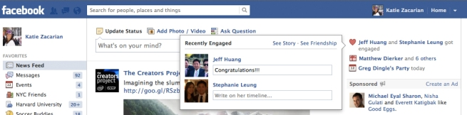 facebook weddings and celebrations