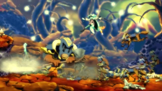 Dust: An Elysian Tail combat