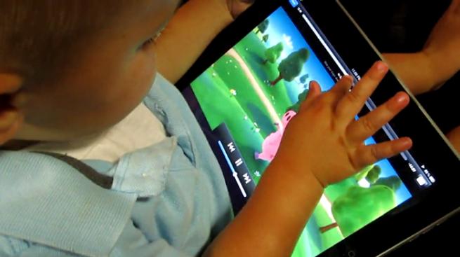 iPad baby
