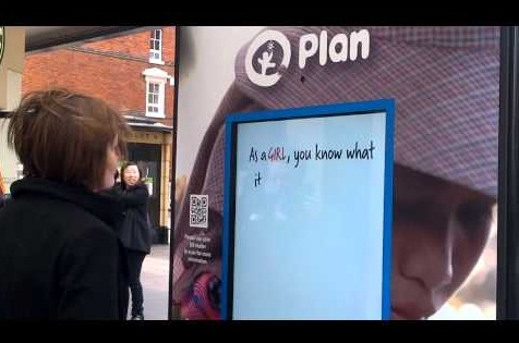 Plan UK face recognition ad
