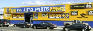 BS & F Auto Parts in the Bronx, New York, makes much of its revenue from brakes