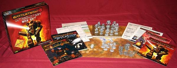 BattleTech board game intro box