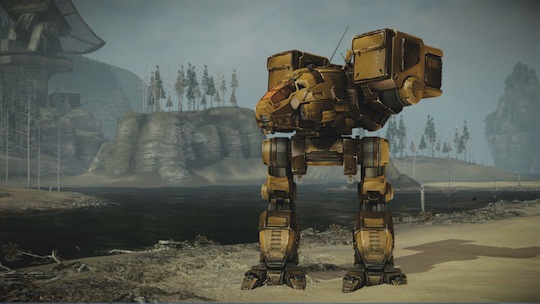 MechWarrior Online Catapult