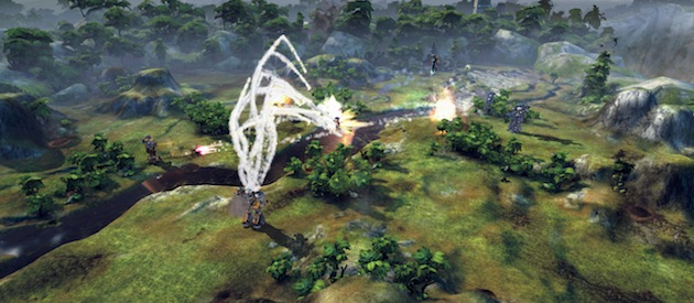 MechWarrior Tactics combat presentation