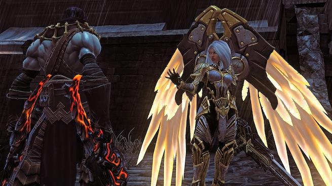 Darksiders II Review Uriel