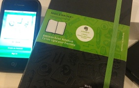 Evernote's new iOS app is designed to work with Moleskine's new Evernote notebook