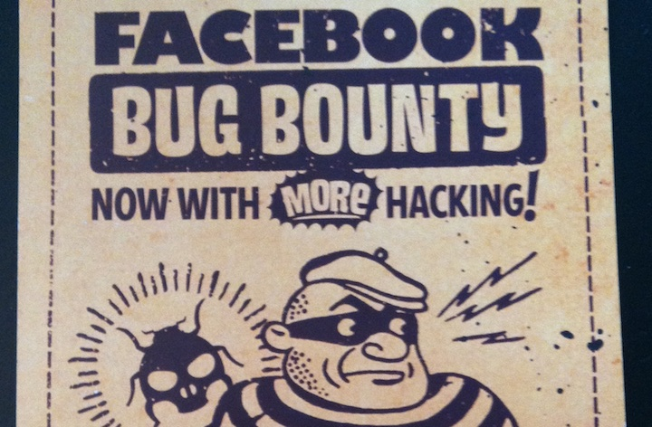 Facebook's Bug Bounty program offers rewards to hackers who report vulnerabilities.