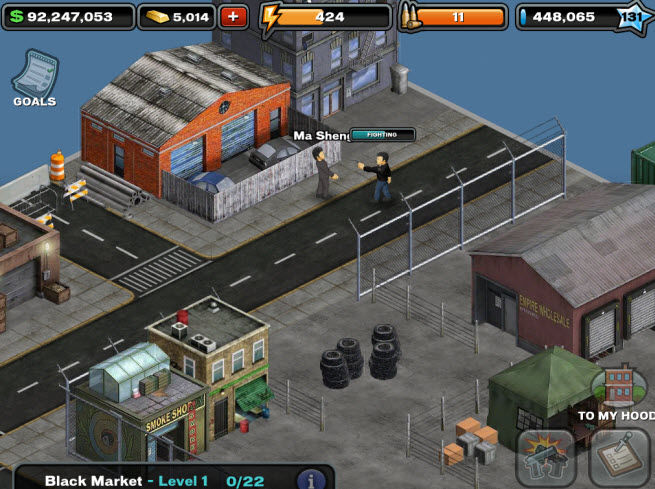gree crime city