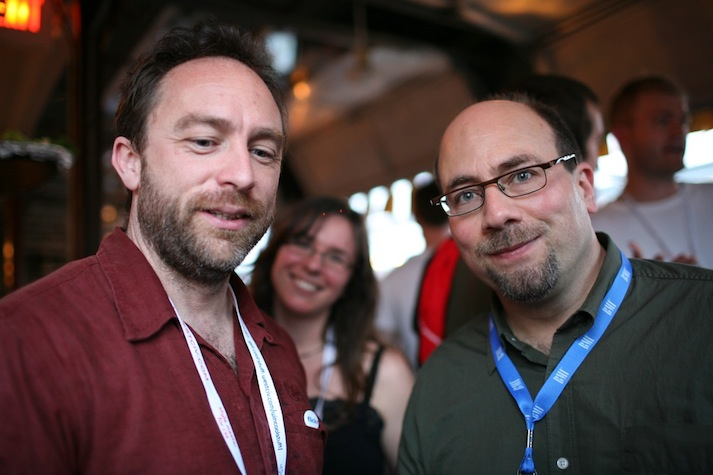 Driving Silicon Valley crazy for over a decade: Jimmy Wales and Craig Newmark