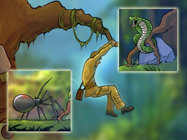 David Crane's Jungle Adventure