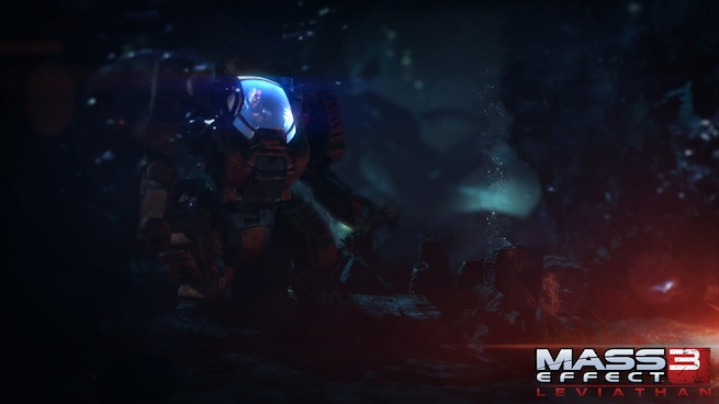 Mass Effect 3: Leviathan underwater screen