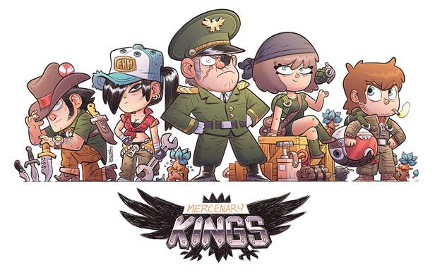 Mercenary Kings NPCs