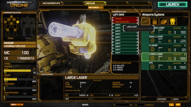 MechWarrior Online screen #3