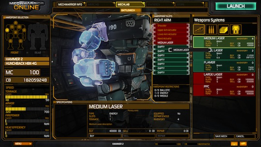 MechWarrior Online screen #6