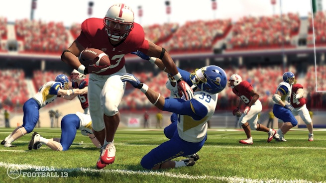 NCAA Football 13 Stanford Field Run
