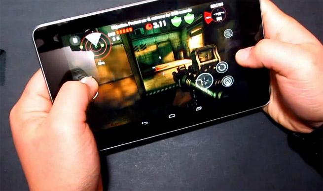 Dead Trigger on a Nexus 7 tablet