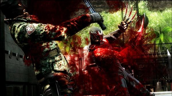 Ninja Gaiden 3 blood spill