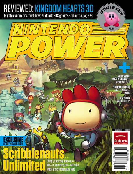 Nintendo Power Magazine August 2012
