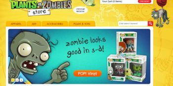 Visit the new Plants vs. Zombies store for everything you'll need for the apocalypse…today