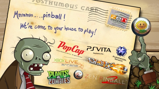plants vs. zombies pinball