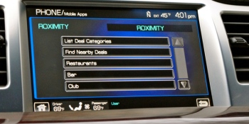 Ford and Roximity team up to bring daily deals to your car