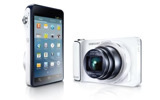 Hero shot of Samsung Galaxy Camera
