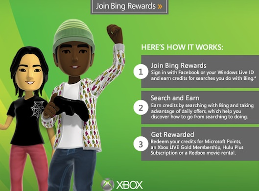 Bing Rewards promo email