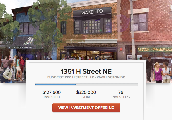 Fundrise crowdfunding real estate
