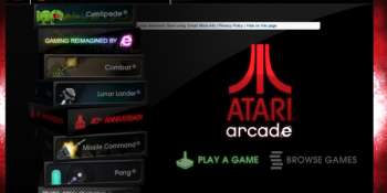 At 40, Atari gives eight classics to everyone for free…with touch controls through a browser