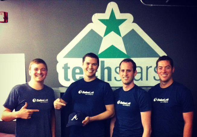 TechStarsBoulder2012-SalesLoft-Team