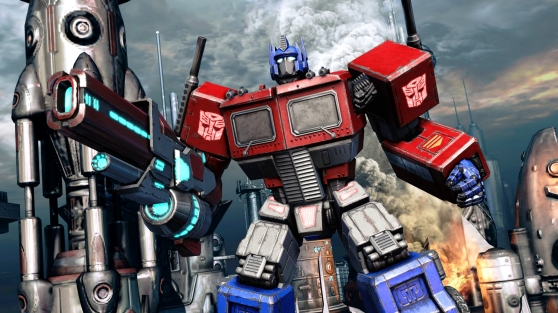 Fall of Cybertron retro Optimus Prime