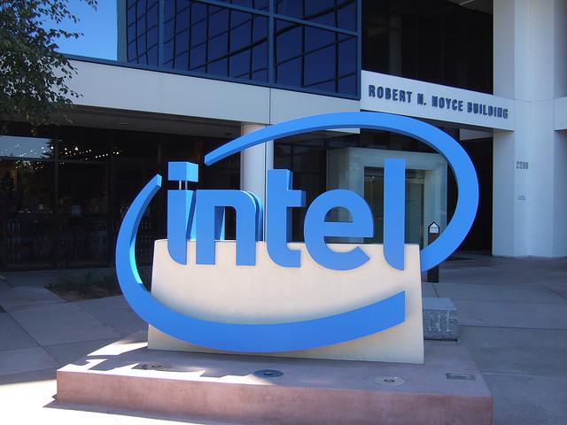 Intel entrance