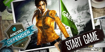 Greenpeace's Lara Croft clone defends the Arctic in socially aware mobile game