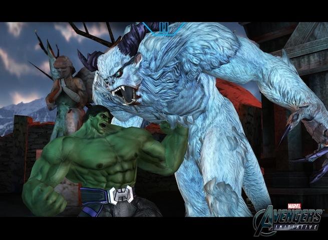 Avengers Initiative Hulk gut punch