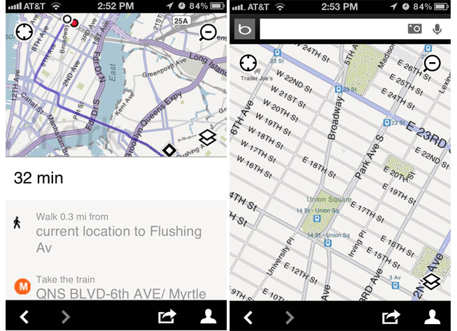 Microsoft Hey Apple Maps haters Use Bing for iPhone instead – Map Bing Maps