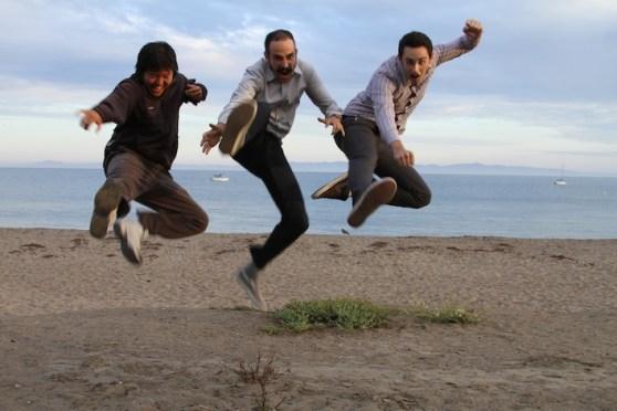 Birdeez aka EcoLek LLC founders jump in the air