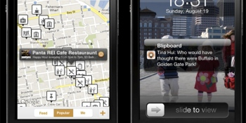 Blipboard's iOS app tunes you into the cool things around you