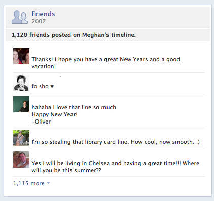 facebook wall posts