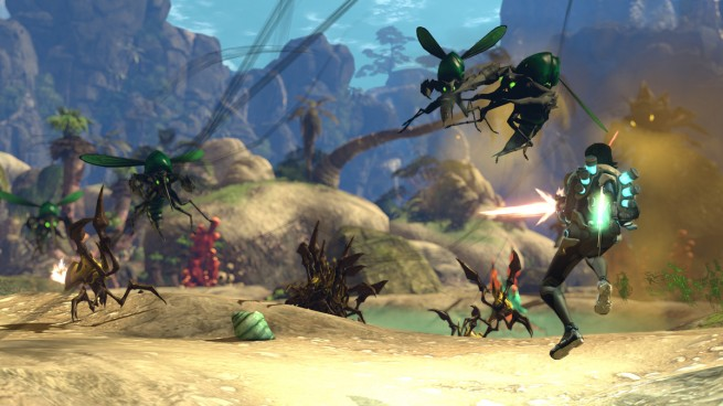 Firefall in action.