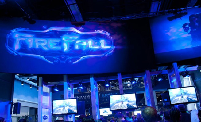 Firefall PAX booth