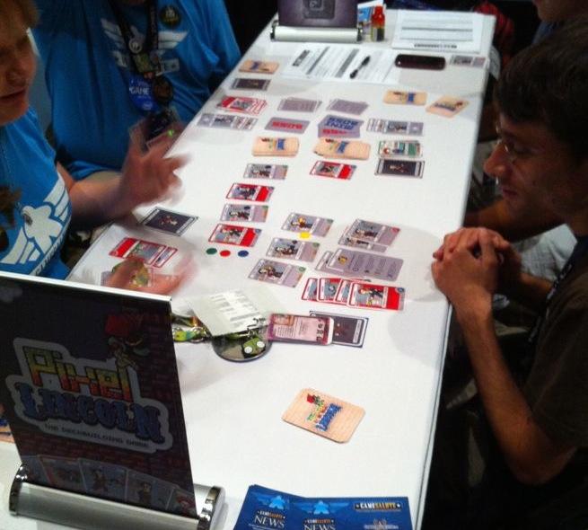 Pixel Lincoln The Deckbuilding Game
