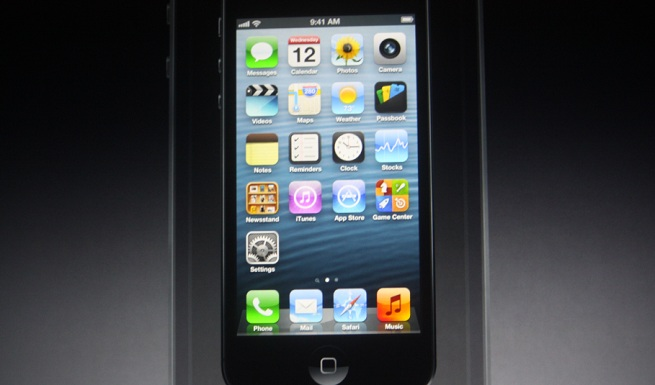 Apple's new iPhone 5