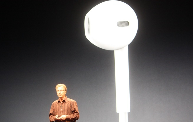 Apple's new Earpod comes with the iPhone 5 and new iPods