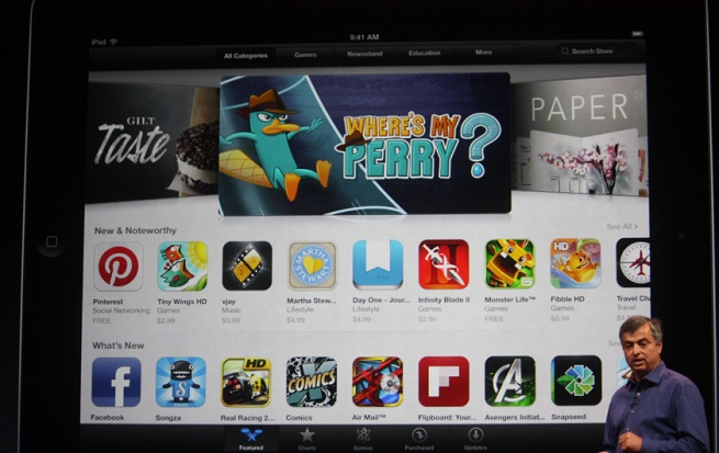 The revamped iTunes store