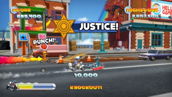 Joe Danger 2: The Movie screen 1