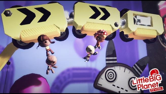 LittleBigPlanet Vita Grapple Train