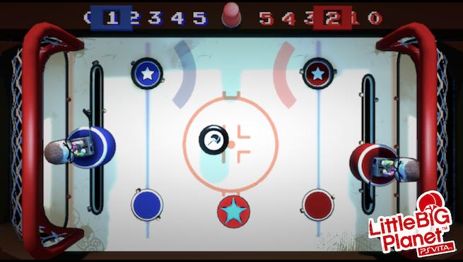 LittleBigPlanet Vita MiniGame Airhockey