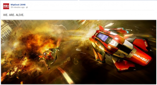 Wipeout 2048 dev lives