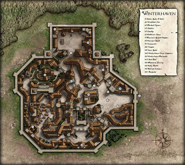 Danie's map