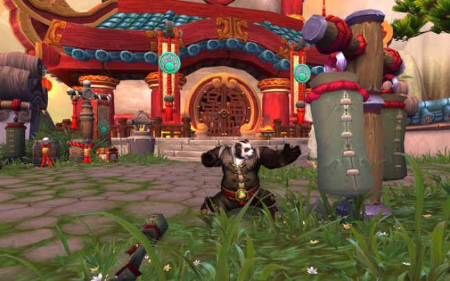 World of Warcraft's Chinese-themed Mists of Pandaria expansion.
